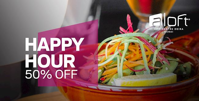 Happy Hour - 50% Off
